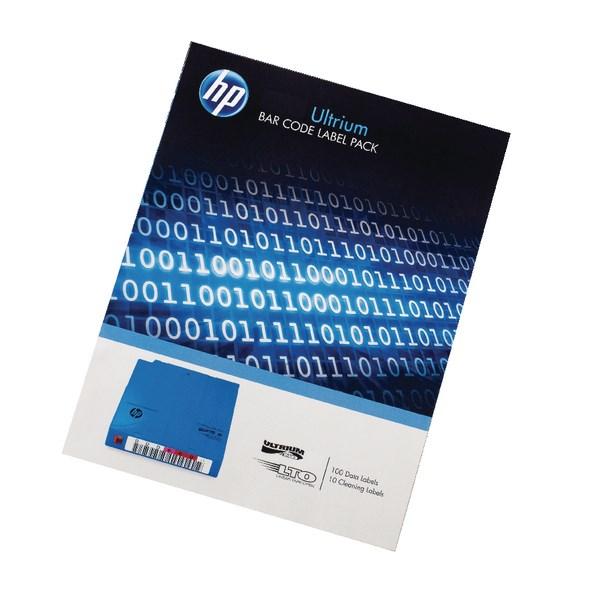 HP Ultrium LTO4 Data Cartridge Barcode Label Pack Q2009A - HPQ2009A