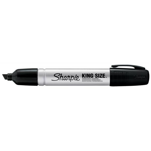 sharpie metal permanent marker large chisel tip black s0949820 gl94982