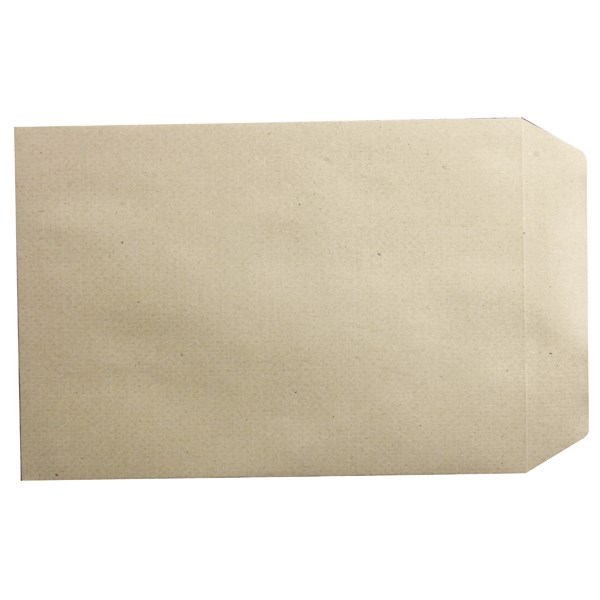 Q-Connect Pocket C5 Window Envelopes 115gsm Manilla Peel and Seal Pack of 500