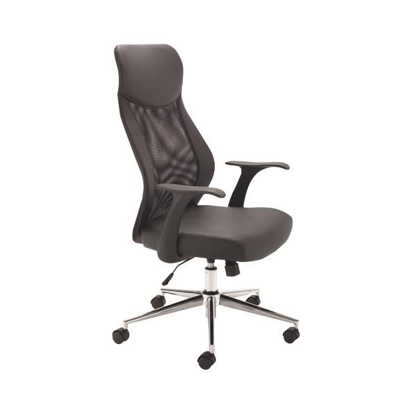 Jemini Mesh High Back Operator Chair Black KF74501 - KF74501
