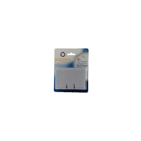 Rolodex business card sleeves clear pack 40 s0793540 el67691 product reheart Image collections